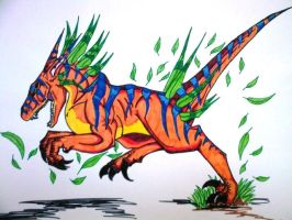 Colorful Raptor by Revie6661