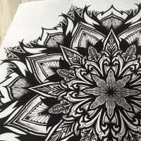 Great geometric mandala design by OrgeSTC