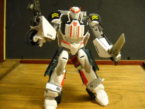 Transformers prime ratchet custom Prowl by Prowlcop