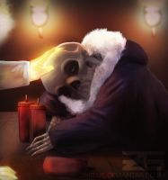 Undertale - Sans, It's been a long day by Zinrius