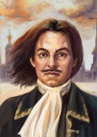 Peter the Great by ladunya