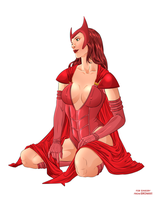 Scarlet Witch by Eromaxi by singory