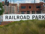 railroad park sign in alabama by nos22