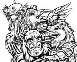 The Tengu Are Amused by ursulav
