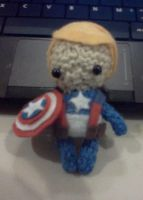 Captain America by PhileasFogghorn