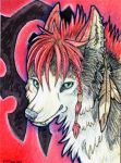 ACEO- For the Horde by cloudstar-wolf