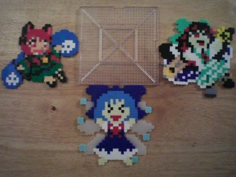 Perler Bead Show and Tell! by kidate15