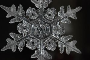 Stock large snowflake by ellemacstock