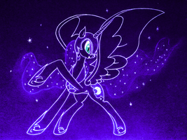Nightmare Moon by soortes
