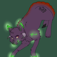 Adoptable Zodiac Wolves: Scorpio by moothequackingcow