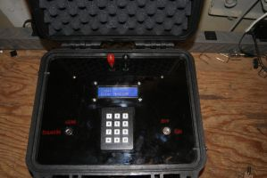 Pelican Case Bomb Prop Close Up by wizdum