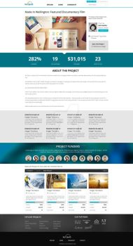 Katipult Project Page Design by nightcreatives