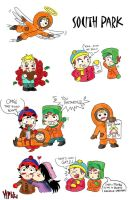 South Park stuff... by MagicMikki