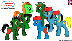 Thomas and Friends/MLP - FIM Forms Pt. 2 by LGee14