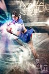 Hadouken from a School Girl by jaytablante