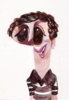 Michael Cera Caricature by aaronphilby