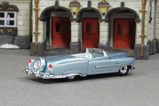 1953 Cadillac Series 62 Convertible - silver-blue  by Deanomite17703