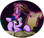 Studying Hard by OmegaSunBurst