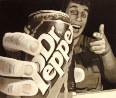 Dr. Pepper by egoodwinart