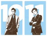 Doctor Who 10th and 11th by gravitydsn