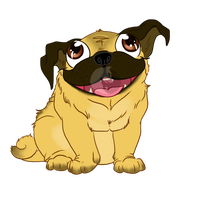 Pug! by catching-dreamz