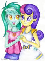 Rainbow Rocks: Love is in the air by Antych