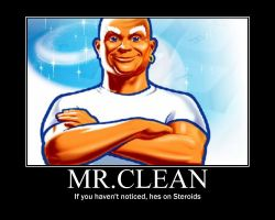 Mr.Clean by may129plz