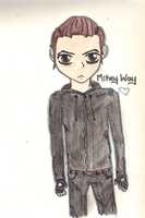 Mikey Way by Misslebabe
