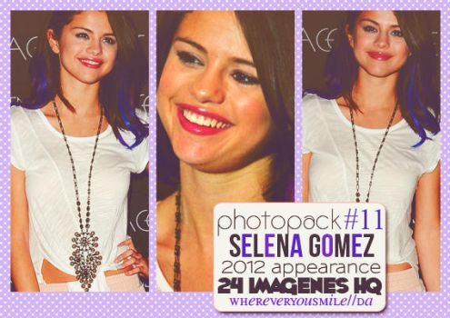 Photopack #11 - Selena Gomez. by whereveryousmile