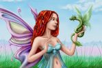 Faerie with Dreads by NeoWorm