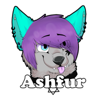 Ashfur Badge by RegallyFlawed