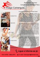 Flyer PersonalTrainer by RCytrangulo