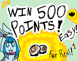 500 Points For You! Whaaaaa! by Drizzle-The-Glaceon