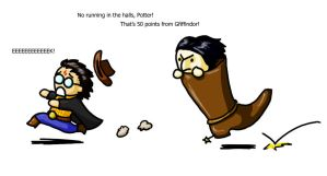 There's a Snape in my boot by veyn