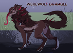 Plant-Fu Auction: Werewolf Bramble (CLOSED) by KurokiKumo