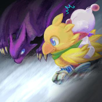 Chocobo Racing by BsaturnineD