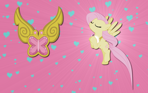 Fluttershy wall paper 7 by AliceHumanSacrifice0