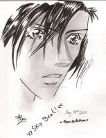 Tsuruga Ren - Skip Beat by InitiallyBones