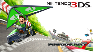 Luigi Kart 7 Wallpaper by RafaelMartins