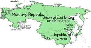 Dissolution of Russia and China by IntrepidTee