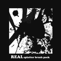 REAL Splatter brushes by QuizRens