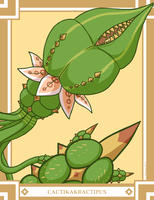 Monster Month II, #25: Cactikakractipus by The-Knick