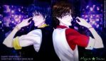 Happy Birthday Oshitari  Yuushi by lovedreams