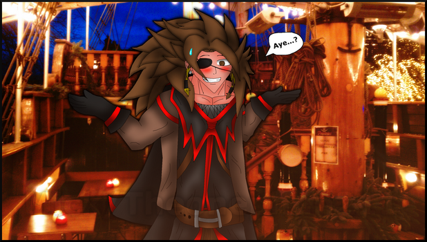 Pirate Phire (Old Sketch Now Digitized) by TheOnePhun211