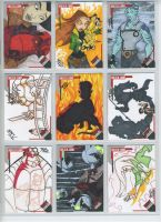Hellboy animated sketch cards by britbrakdown