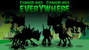 Changelings, Changelings Everywhere Cover by Alexstrazse