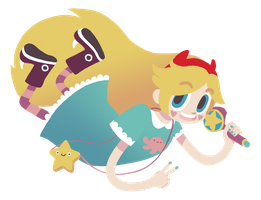 Star Butterfly by deersweets