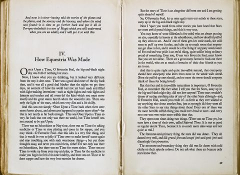 Aux. iii - 'How Equestria Was Made pg. 1-2' by theinexplicablebrony