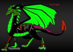 Grave Digger the Dragon by trainman666