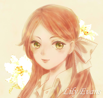 Lily Evans by AmiMochi